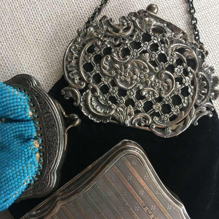 Silver purses