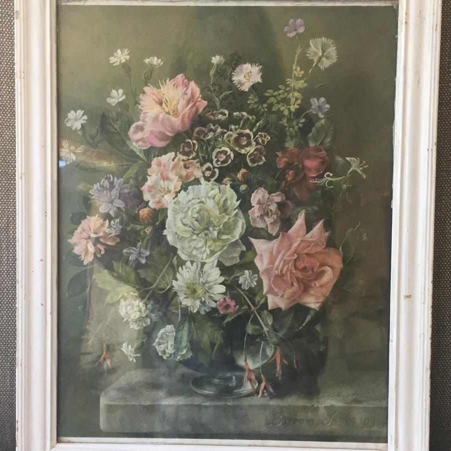 Framed vintage print by Barbara Shaw 1949