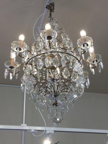 Italian Murano glass chandelier 1930s