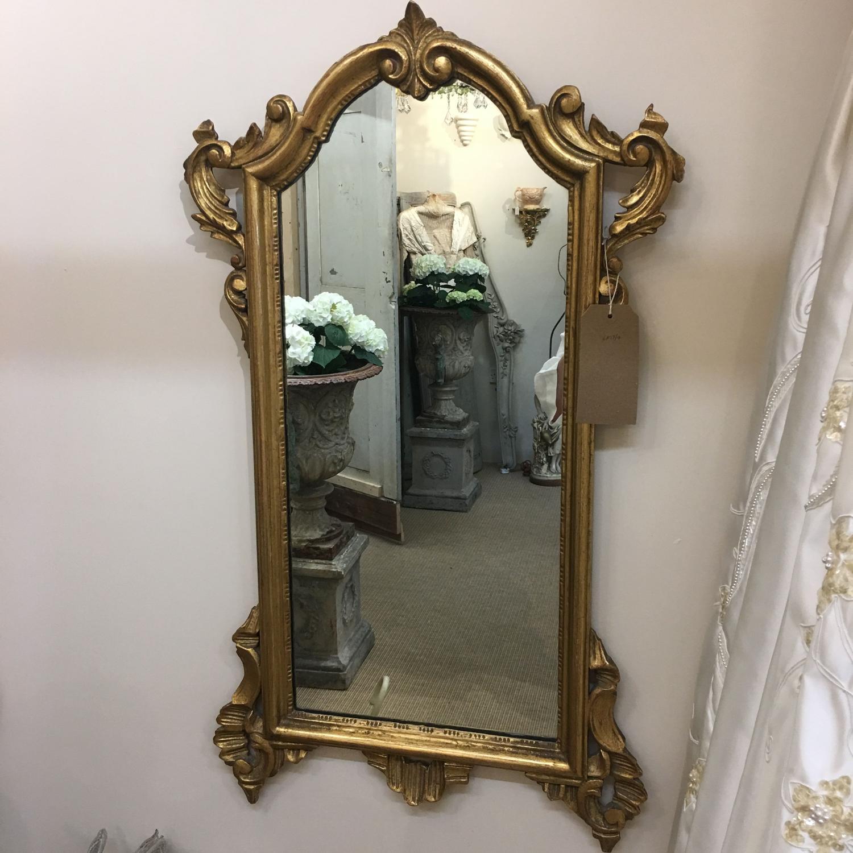 Vintage gilded mirror