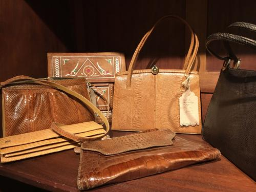 Selection of vintage and designer handbags always in stock