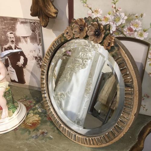 Vintage Barbola mirror