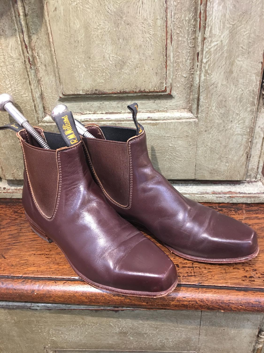 Gently worn RM Williams leather boots UK size 5.5/38.5