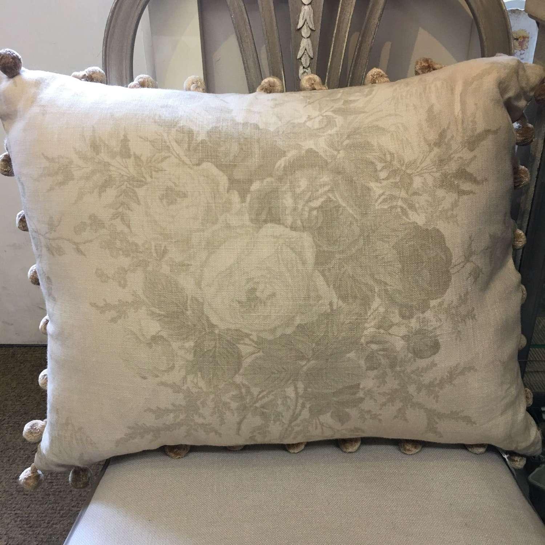 Kate Forman fabric linen cushion