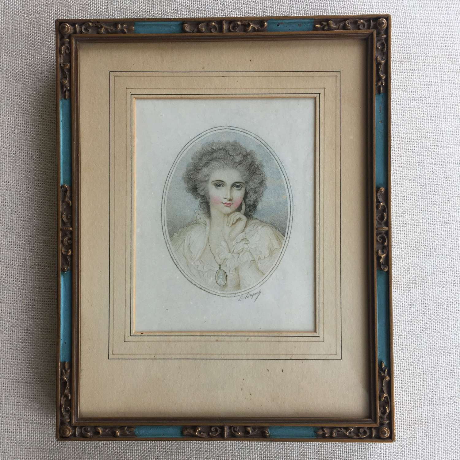 Antique limited edition prints after Richard Cosway in original frames