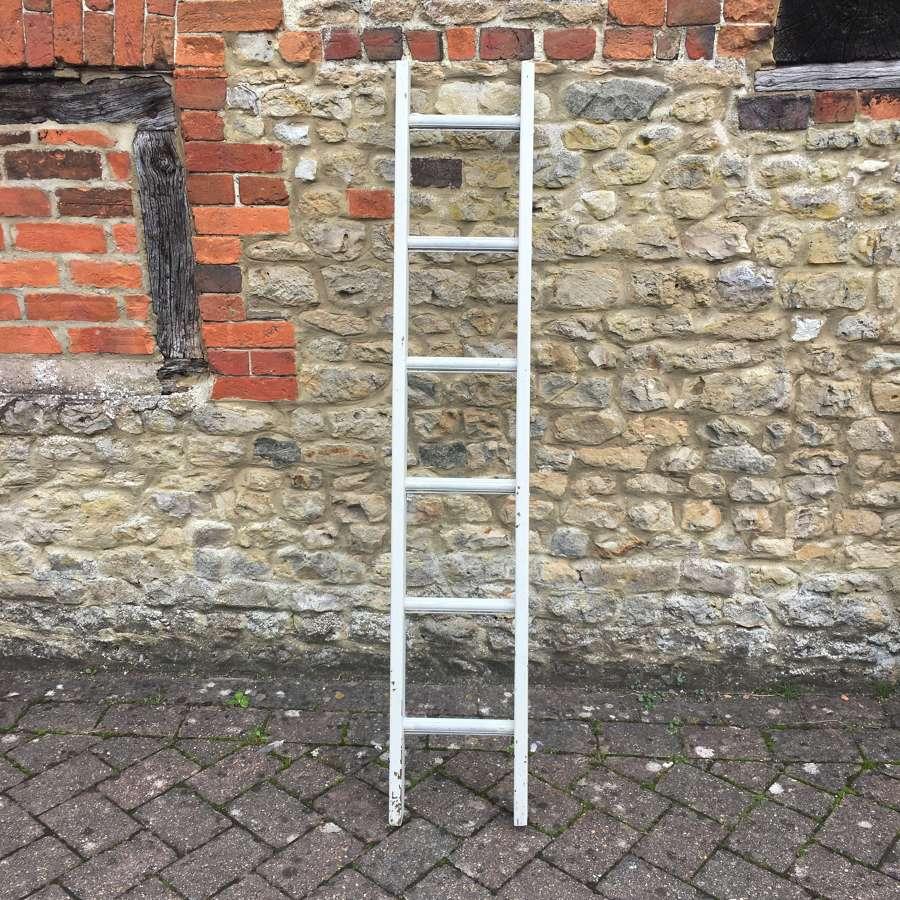 Vintage painted ladder