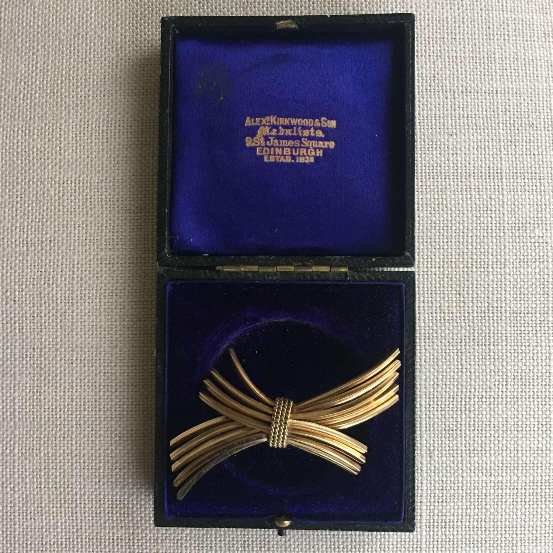 Vintage Grosse brooch dated 1963