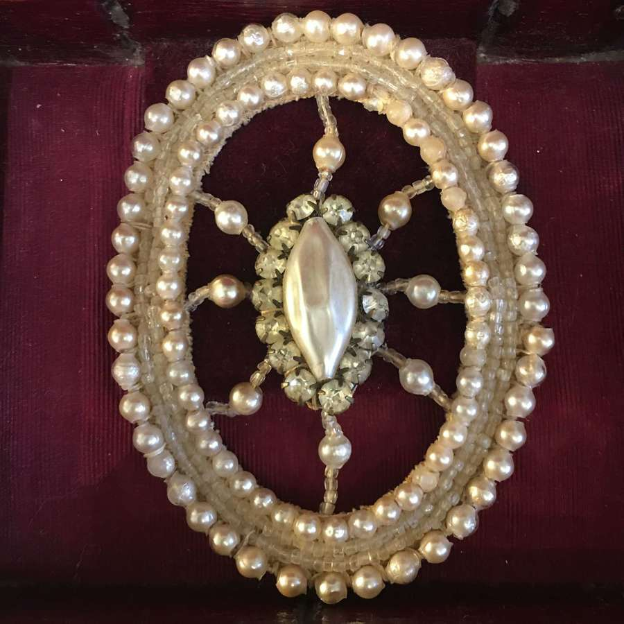 1920s decorative dress ornament