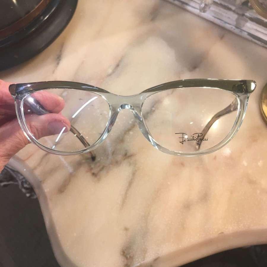 Emilio Pucci Green/Aqua spectacles unused