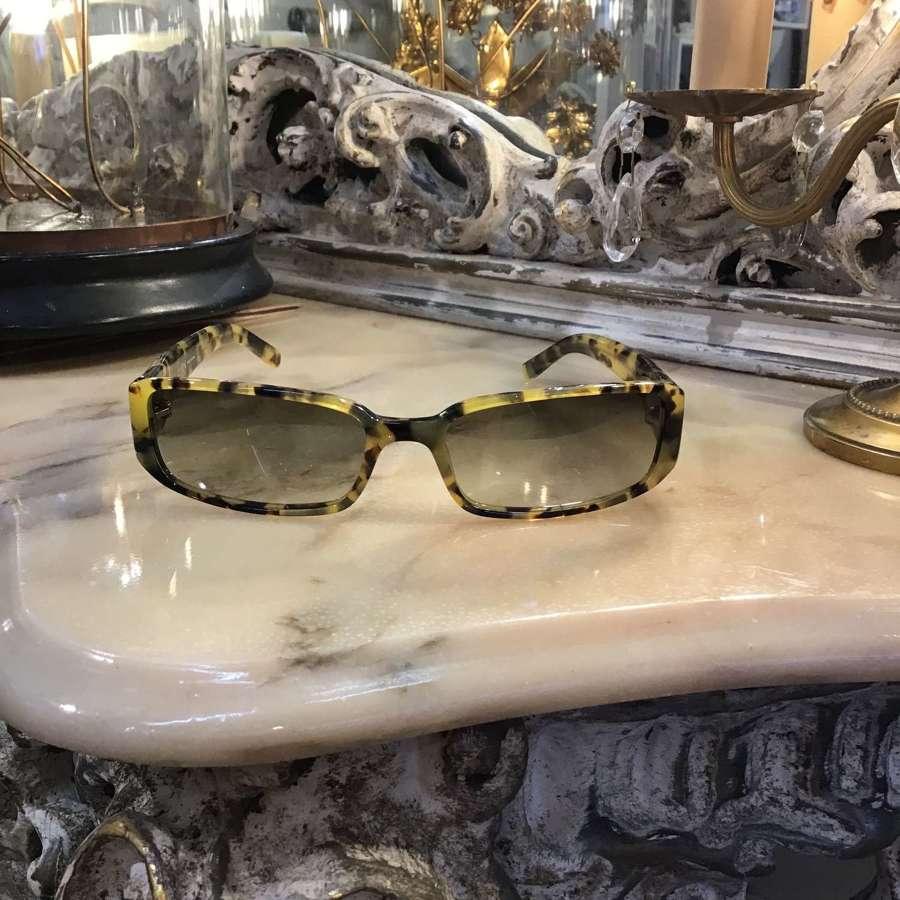 Anne Klein tortoiseshell sunglasses