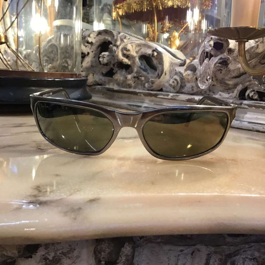 New pewter frame Ray Ban sunglasses