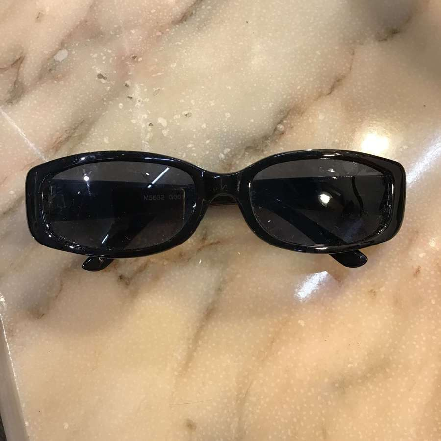 Black Morgan sunglasses