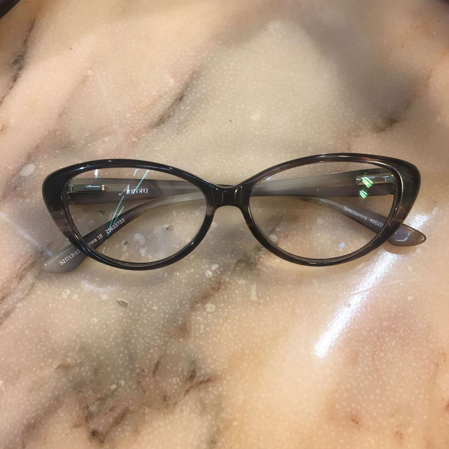 Aurora cats eye spectacles