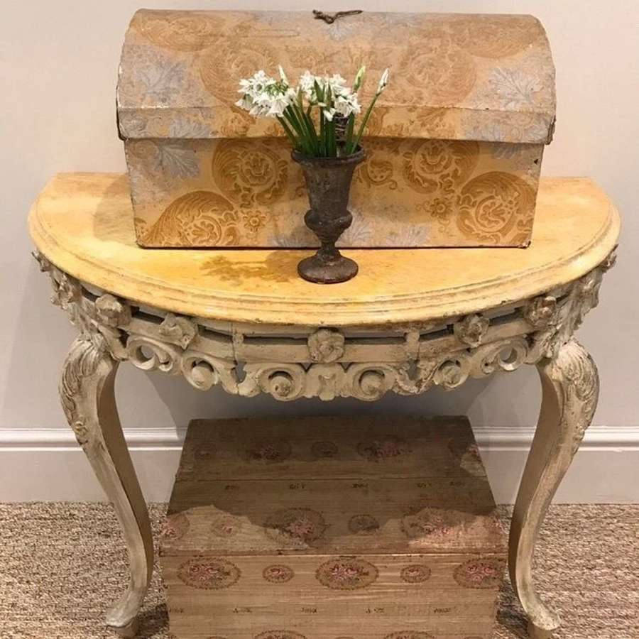Early 20th century console table