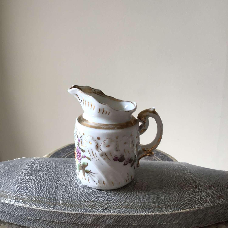 Victorian hand painted jug